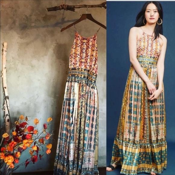 3e0bb7a5dc9d2 Anthropologie Dresses   Bhanuni By Jyoti Larache Maxi Dress   Poshmark
